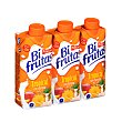 Frutas+leche tropical (brik naranja) Pack 3 briks x 330 ml Bifrutas Pascual