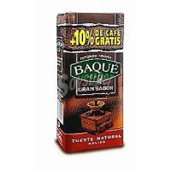 Baqué Café molido natural Paquete 250 g + 10%