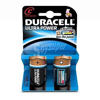 DURACELL Ultra Power Pilas alcalinas M3 LR14 C 2 Unidades