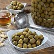 Aceituna sabor anchoa Tarro de 2,3 kg Manzanilla