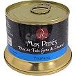 Foie gras de pato trufado en bloc lata 130 G Lata 130 g Mas pares