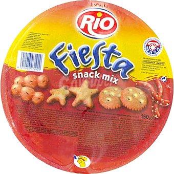 RIO Fiesta 4 Snack Mix Galletas saladas Envase 150 g
