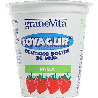 GRANOVITA Soyagur Yogur de soja sabor fresa Tarrina 145 g