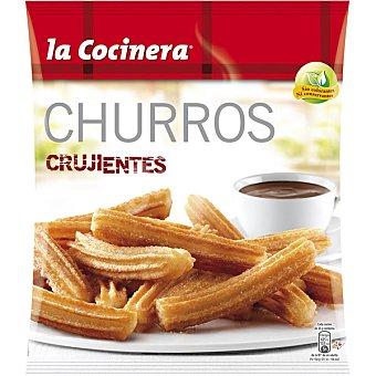 La Cocinera Churros crujientes envase 375 g Envase 375 g