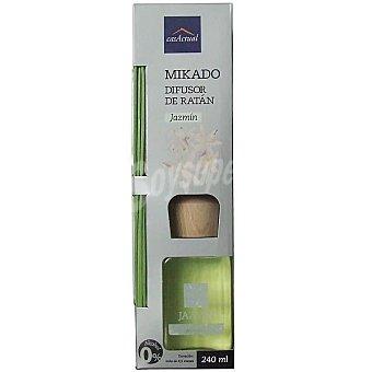 CASACTUAL Mikado Ambientador en varillas aromáticas Jazmín 240 ml