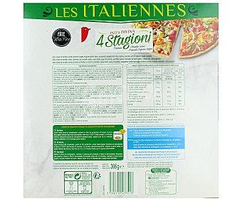 Auchan Pizza 4 estaciones 366 gramos