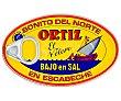 Bonito del norte en escabeche bajo en sal Lata 82 g peso neto escurrido Ortiz