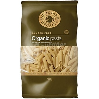 DOVES FARM ORGANIC Penne de arroz integral sin gluten Envase 500 g