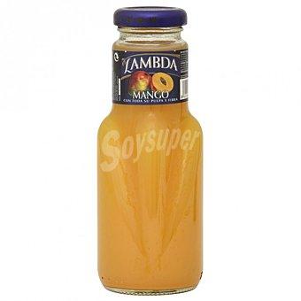 Lambda zumo de mango botella  250 ml