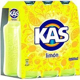 Kas Refresco de limón Pack 6x20 cl