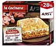 Lasaña boloñesa Caja 1060 g La Cocinera