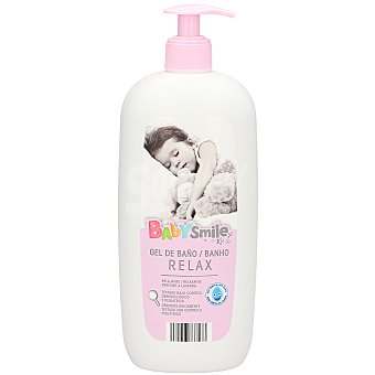 BABYSMILE Jabon liquido  infantil lavanda  botella 750ml