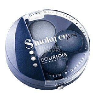 Bourjois Paris Sombra de ojos smoky eyes trio bleu jeans t11 1 ud