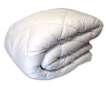 Auchan Relleno nórdico acrilíco para cama de 105 centímetros, color blanco, densidad de 300 gramos 1 Unidad