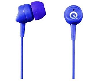 QILIVE 27E7039 Auriculares tipo Intrauricular Púrpura, con cable