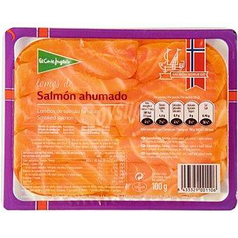 El Corte Inglés Lomos de salmón ahumado Envase 100 g