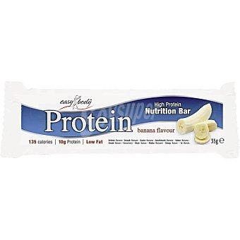 EASY BODY Protein Barrita de proteínas sabor banana Unidad 35 g