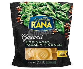 Rana Gran Ripieno Espinacas-Piñones-Pasas (pasta Fresca) 250 Gramos