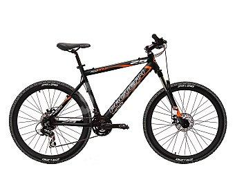 TNT Bicicleta de montaña de 29 pulgadas con 24 velocidades, cuadro de aluminio y frenos de disco 1 unidad