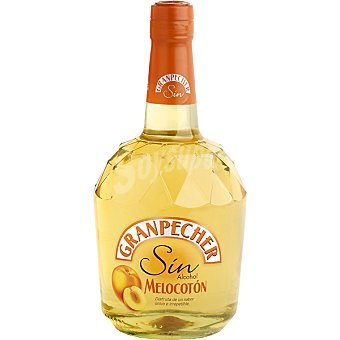 Granpecher Licor de melocotón sin alcohol Botella 70 cl