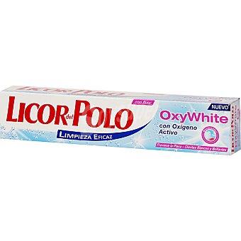 Licor del Polo Pasta dentífrica Oxy White con oxígeno activo Tubo 75 ml