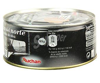 Auchan Bonito en aceite de oliva 190 gramos peso escurrido