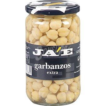 JA'E Garbanzos cocidos extra al natural Frasco 400 g neto escurrido