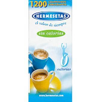 HERMESETAS Hermesetas en comprimidos Caja 1.200 unid
