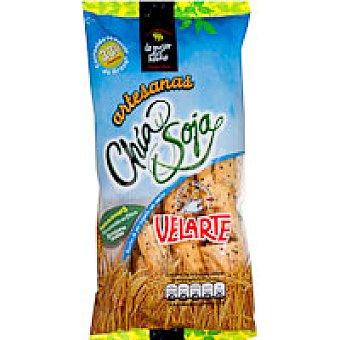 Velarte Palitos chia-soja Bolsa 90 g