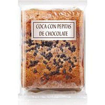 Dulcesol Coca con pepitas de chocolate 470 Gr