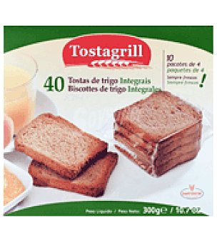 Tostagrill Biscottes de trigo integrales 40 ud