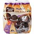 Muffins doble chocolate Paquete 450 g MONTES LARA INPANASA