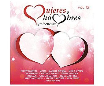 SONY MUSIC Mujeres y Hombres Vol.5