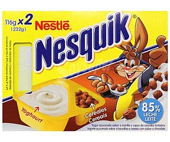 Nesquik Nestlé Mix nestle 2x116 GRS