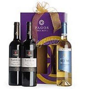 ALTOS DE TAMARON Roble Estuche vino 2x75 cl + blume Verdejo