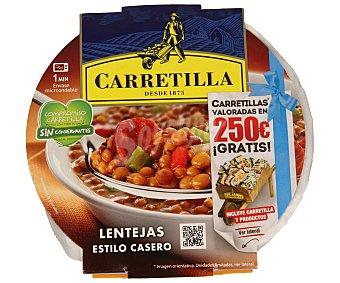 Carretilla Lentejas con chorizo Tarrina 300 g