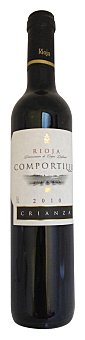 Comportillo Vino tinto rioja crianza Botella 50 cl