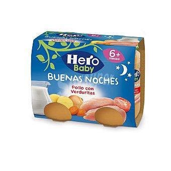Hero Baby Hero Baby Tarrito Pollo con Verduritas 400 g