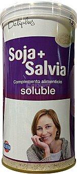 Deliplus Soluble soja + salvia Bote de 325 g