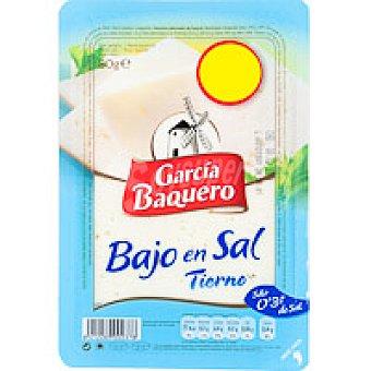 Garcia Baquero Queso tierno bajo en sal Bandeja 80 g