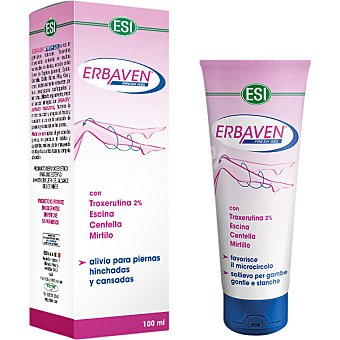 ESI Erbaven Fresh gel piernas frescas y ligeras  tubo 100 ml