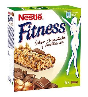 Fitness Nestlé Nestlé Barritas de cereales chocolate 6x23,5g