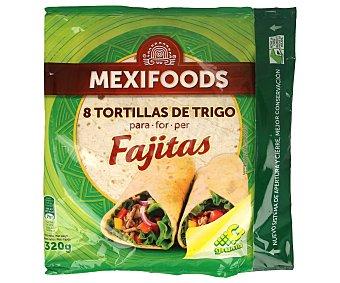 Mexifoods Tortilla Wrap para Fajitas 320g