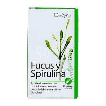Deliplus Cápsulas de fucus + spirulina Bote de 60 unidades
