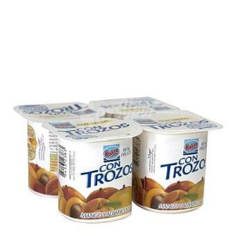 Kalise Yogur con mango y albaricoque Pack de 4x125 g