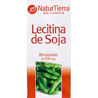 NaturTierra Lecitina de soja en cápsulas Bote 80 unid