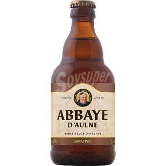ABBAYE D´AULNE Cerveza Belga Brune 33cl