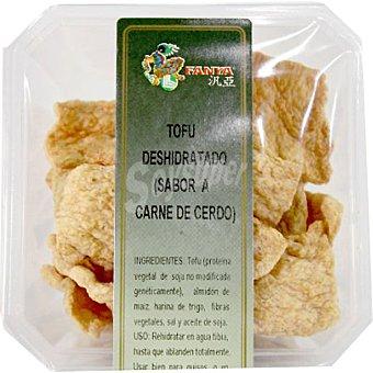 Fanya Tofu deshidratado sabor a carne de cerdo Tarrina 75 g