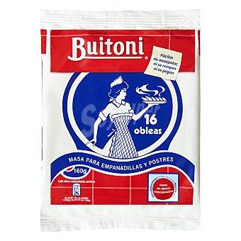 Buitoni Masa para empanadillas medianas (obleas) 160 g