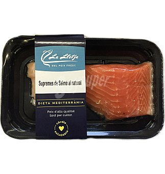 Supremas de salmon natural 200 G